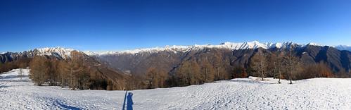 Sul Pizzo Salmone, Canton Ticino, Svizzera