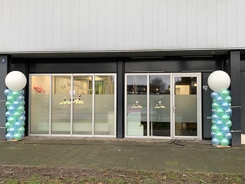 Ballonpilaar Breed Rond Opening Mondzorg de Bikkels Capelle aan den IJssel