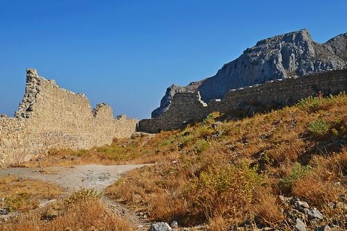 the castle walls :)