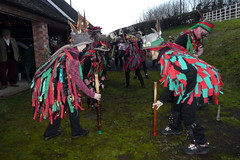 Foxs Morris at The Dodford Wassail 2020