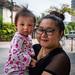 Cute Baby and Mom, Wat Chaeng Sirisamphan, Fitbit Walk, Phra Nangklao Bridge
