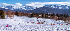 Crans Montana, kids winter  playground