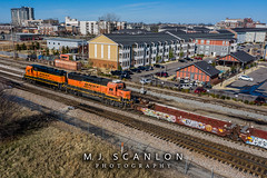 BNSF 2529 | EMD GP39-3 | BNSF Thayer South Subdivision