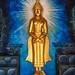 Radiating Buddha Statue, Wat Chaeng Sirisamphan, Fitbit Walk, Phra Nangklao Bridge