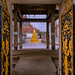 Entrance, Wat Chaeng Sirisamphan, Fitbit Walk, Phra Nangklao Bridge