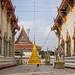 Between the Temples, Wat Chaeng Sirisamphan, Fitbit Walk, Phra Nangklao Bridge
