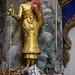 Statue, Wat Chaeng Sirisamphan, Fitbit Walk, Phra Nangklao Bridge