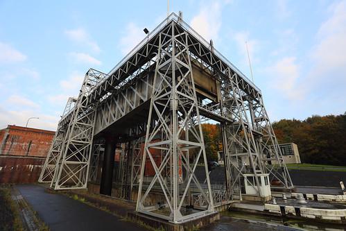 Lift No. 1 Old Canal Du Center, La Louvière, Belgium