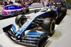 George Russell's 2019 Williams FW42 Mercedes Formula 1 Car