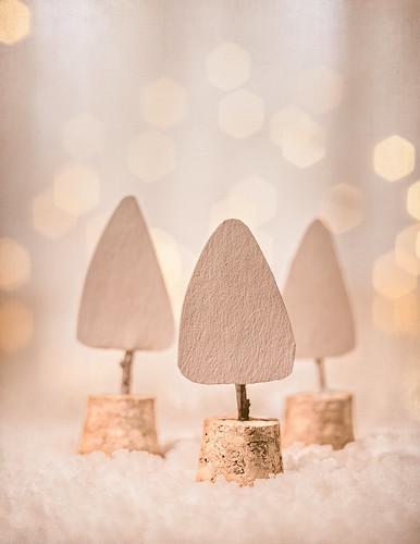 Little paper trees