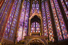 Mil y un colores en la Saint Chapelle