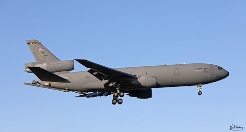 United States Air Force McDonnell Douglas KC-10A Extender 69-1947 on finals for NAS Rota/LERT