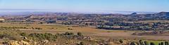 Panorámica de campos del Bajo Aragón