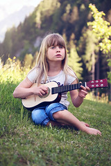 Person Human Child Girl Blond Edited 2020