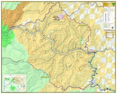 East Fork Kelsey Creek Wild and Scenic River Map