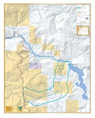 Walker Creek Wild and Scenic River Map