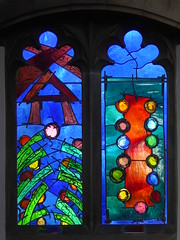 Oundle School Chapel - Mark Angus Windows