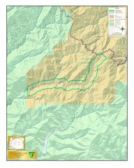 North Fork Silver Creek Wild and Scenic River Map