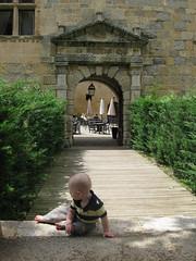 FR11 5560 Baby James. Château des Ducs de Joyeuse. Couiza, Aude