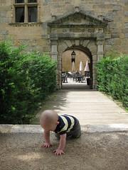 FR11 5558 Baby James. Château des Ducs de Joyeuse. Couiza, Aude
