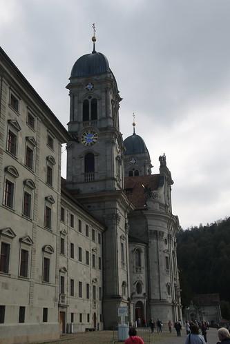 Einsiedein Benedictine Abbey, Switzerland.