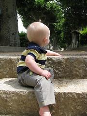 FR11 5564 Baby James. Château des Ducs de Joyeuse. Couiza, Aude