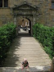 FR11 5557 Baby James. Château des Ducs de Joyeuse. Couiza, Aude