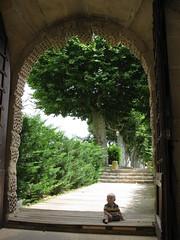 FR11 5546 Baby James. Château des Ducs de Joyeuse. Couiza, Aude