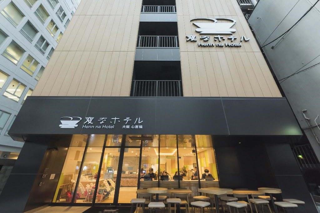 Henn na Hotel Osaka Shinsaibashi 1