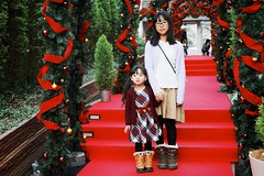 SAKURAKO and SAKIKO - Christmas Archway.