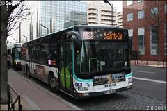 Man Lion's City – RATP (Régie Autonome des Transports Parisiens) / STIF (Syndicat des Transports d'Île-de-France) n°9608