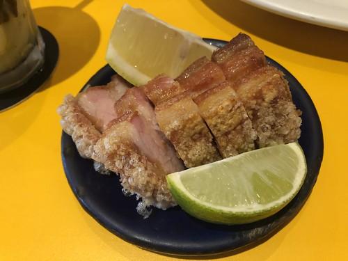 Torresmo de barriga - Restaurante Mocotó #saopaulo #mocoto