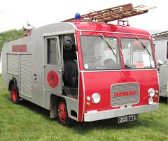 205 TTA 1963 Bedford J2  Devon Fire Service WSR rally