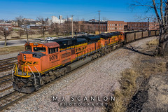 BNSF 9076 | EMD SD70ACe | BNSF Thayer South Subdivision