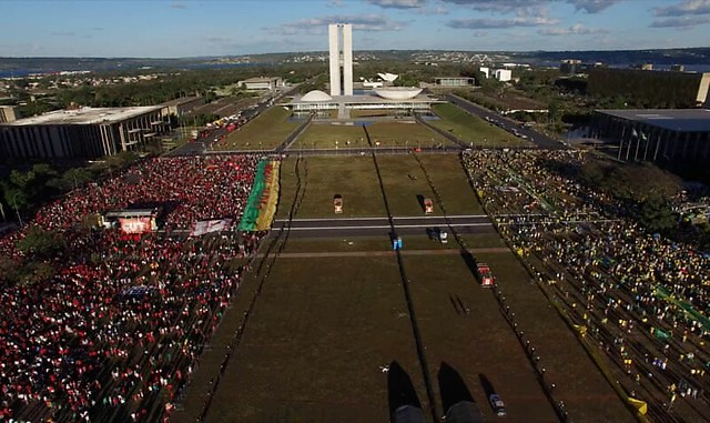 Documentary launched worldwide on June 19, 2019 moved viewers who witnessed the coup against democracy in Brazil - Créditos: Handout