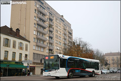 Heuliez Bus GX 327 – STAC (Société de Transport de l'Agglomération Chalonnaise) (Transdev) / Zoom n°2123
