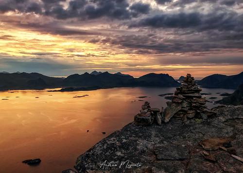 Festvågtinden Hike Viewpoint - Lofoten Islands (Norway)