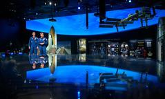 Astronauts McClain and Hague at NASM (NHQ202001140009)