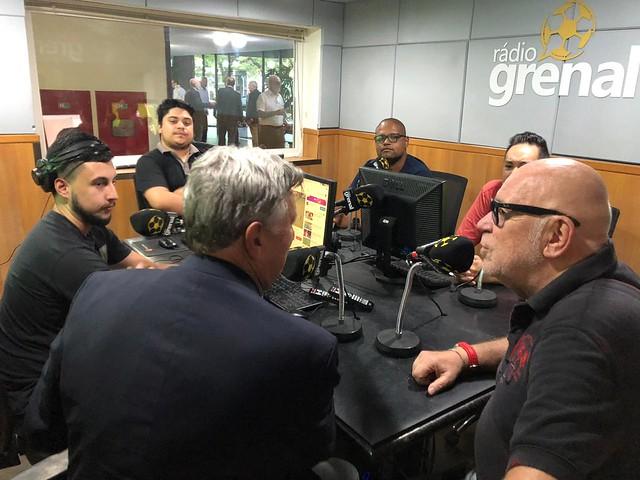13/01/2020 Entrevista Rádio Grenal