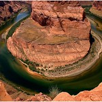 Horseshoe Bend Colorado River by John Russell