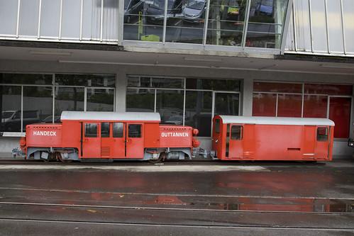 CH Stollenbahn Guttannen - Handeck Lok 3   Luzern 28-04-2019