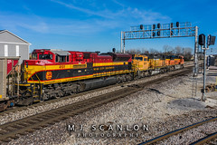 KCS 4191 | EMD SD70ACe | BNSF Thayer South Subdivision