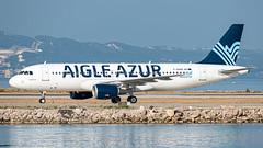 A320-200 Aigle Azur - Photo of Le Rove