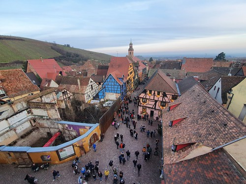 Riquewihr from the top