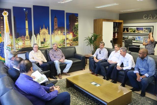 14/01/2020 Reunião sobre Aeroporto da Serra -Prefeitura de Caxias do Sul