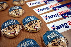Andrew Yang cookies & stickers