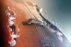 Guitar Smoke Sound Holes Vintage Edited 2020