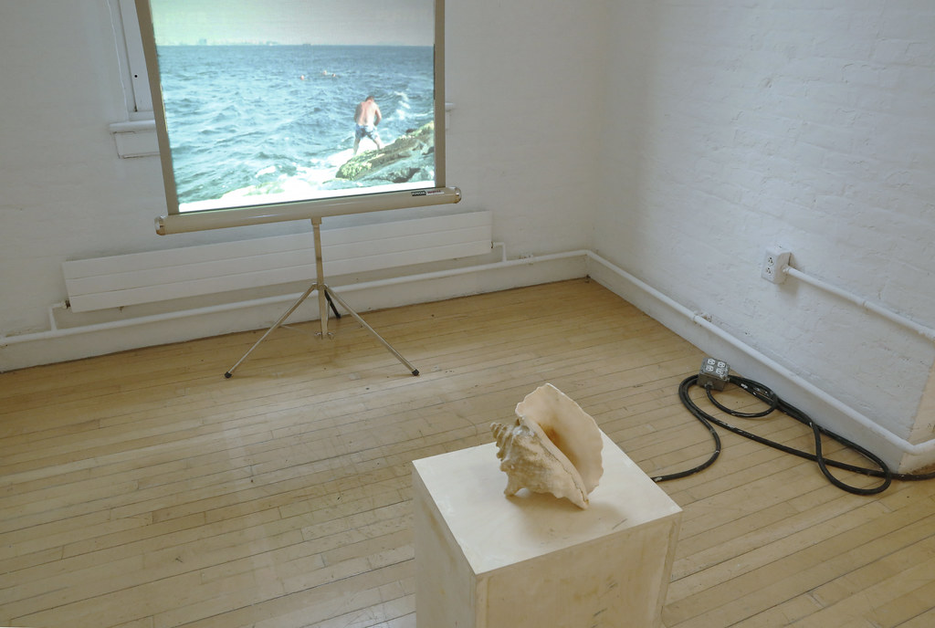 An installation in the Experimental Gallery by Ege Okal (M.F.A. '20), part of the M.F.A. exhibition <em>Pure Wobble.</em>