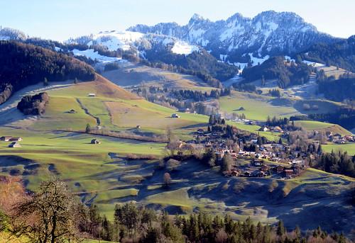 The view to Vounetz
