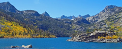Early Autumn on Lake Sabrina, Sierra Nevada, CA 2017
